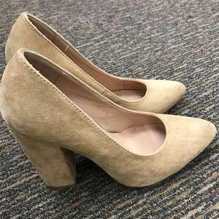 Zalora Heels (Suede) #CNY88