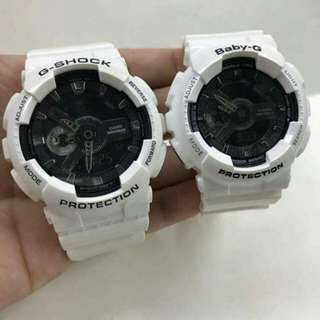 OEM JAPAN GSHOCK/BABY G COUPLE WATCH