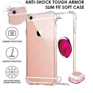 Iphone 7/8 phone case with protective side