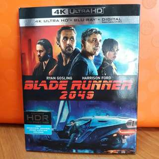 USA Blu Ray Slipcase - Blade Runner 2049 4K