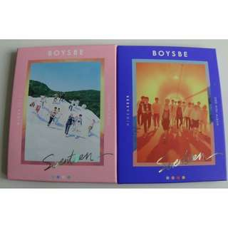 SEALED ON HAND Seventeen Boys Be Album