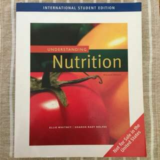 Understanding Nutrition - Ellie Whitney