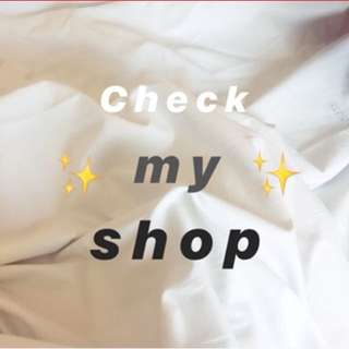 ✨CHECK MY SHOP LOVES ✨