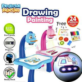 Projectors Kids drawing