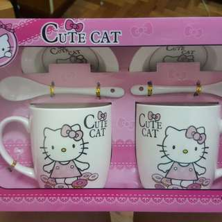 Hello Kitty Coffee Set
