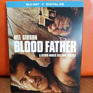 USA Blu Ray Slipcase  Blood Father