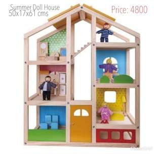 Summer doll house