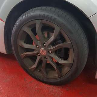 "17"" Rims for sale W Tyres"