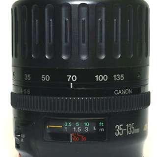 Canon 35-135 USM lens, f4-5.6