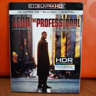 USA Blu Ray Slipcase - Leon The Professional 4K