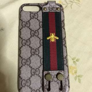 Gucci case for ip7 and 8 plus