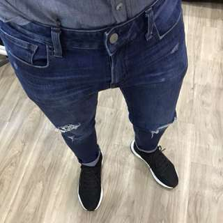 Uniqlo Skinny-ripped jeans