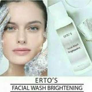 Ertos Facial Wash Brightening