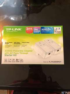 Tp-link Av500 powerline adapter with ac pass through