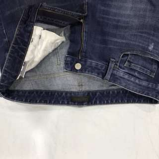 Skinny Ripped-jeans Uniqlo