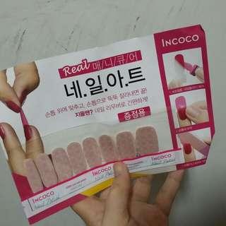 韓國 incoco 美甲貼