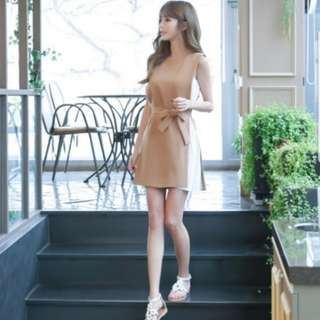 [PO] Korean Faux 2pc Tempo Dress (11)