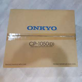 Vinyl Turntable Onkyo CP-1050 D
