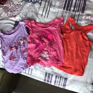 女童2yrs衣服