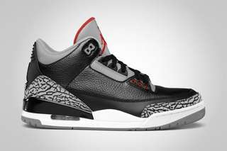 "2018 Air Jordan 3 ""Black Cement"" OG"