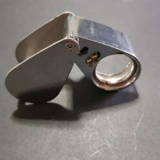 Amulets Appreciation Magnifier With LED