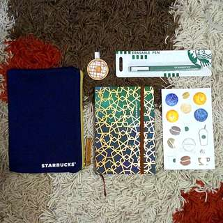 BUNDLE: STARBUCKS PLANNER 2017