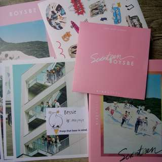 SEVENTEEN Boys Be Album