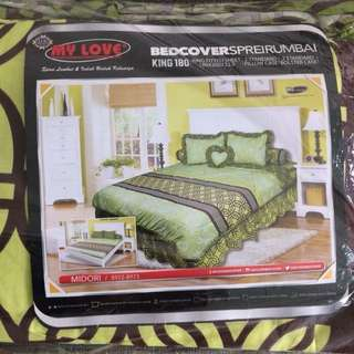 Bed Cover Set My Love King size Midori