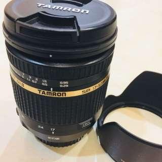 Tamron 17-50 VC Canon