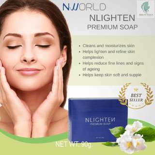 NLIGHTEN Premium Bar Soap NET WT. 90g. (ANTI-AGEING). - CASH ON DELIVERY!