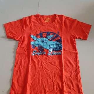 Tshirt Giordano. Orange. 10-14 years