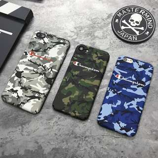 [FREE DELIVERY] Champion Camouflage Phone Cases For iPhone