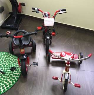 Kids bicycle from age 18 months to 4 years old