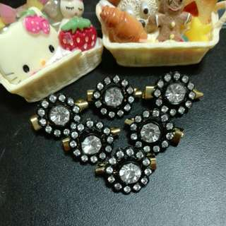 Sunflower Diamonds Brooch