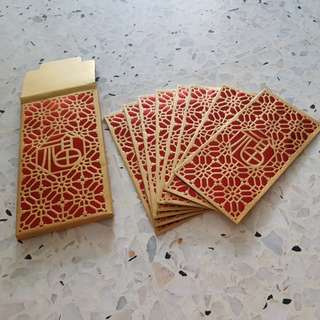 Red packet hong bao 8's