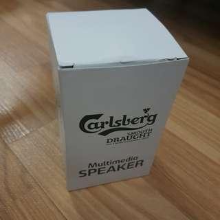 Calsberg usb speaker