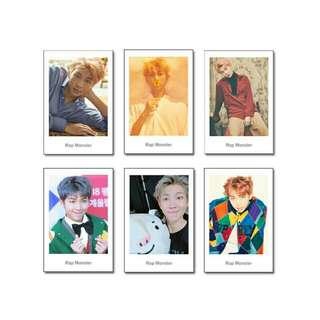 BTS Unofficial Polaroid Style Photocards (Namjoon & Jin)