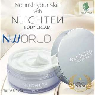 NLIGHTEN Body Cream For All Type of Skin Net Wt. 100g. Cosmetics - CASH ON DELIVERY!