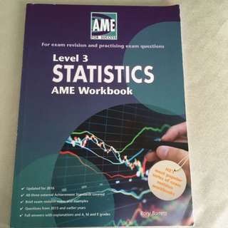 Statistics AME Workbook Level 3    2017