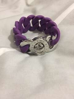 Marc Jacob Turnlock Bracelet- Purple