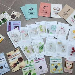 KOREAN BRANDED FACE MASKS