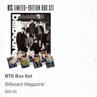 [non-profit go] billboard bts box sets