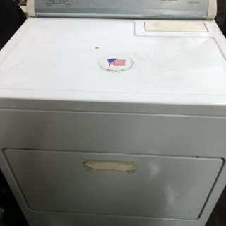 Gas type Whirlpool Heavy Duty Clothes Dryer