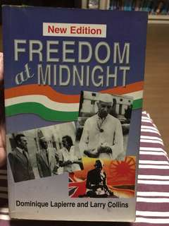 Freedom at Midnight by Dominique Lapierre & Larry Collins