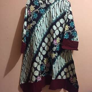 batik kombinasi bahan stretch