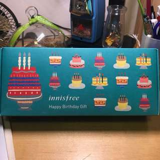 Innisfree birthday pack