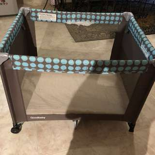 Goodbaby cot playpen baby bed
