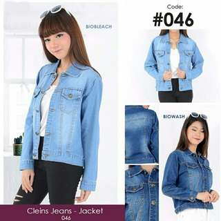 CLIENS JEANS JACKET extremely