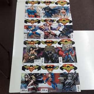 Trinity (2008 DC) Complete Comics Set