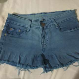 hotpants blue